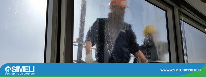 Simeli actualité entretien des vitres