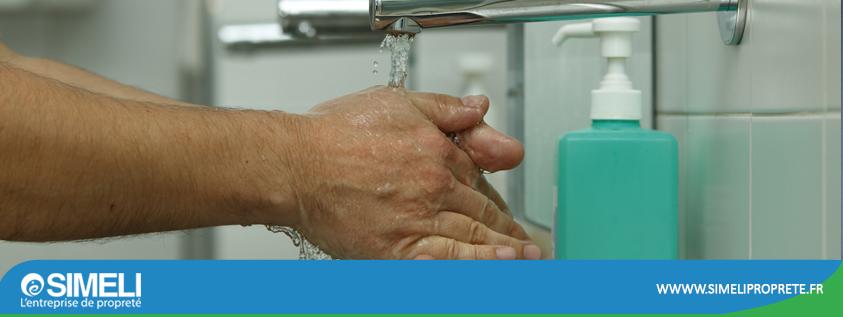 Bien se laver les mains en entreprise